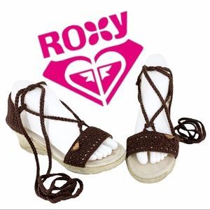 Roxy Espadrilles, Earthy Colors